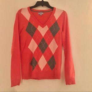 Izod women's argyle sweater